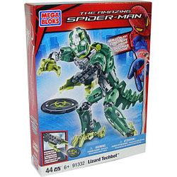Mega Bloks 91332 Spider-Man Лизард Робот