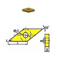 Сменная твердосплавная пластина VNMG160408-GM/SD4125