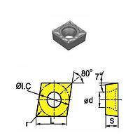 Сменная твердосплавная пластина CCMT060208-HM/SD4225