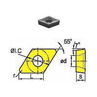 Сменная твердосплавная пластина DCMT070208-HM/SD4225