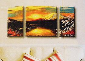 """Картины по номерам """"Восход на горе Фудзияма"""""""