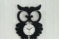 Часы металлические с маятником, фото 1