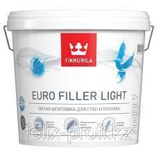 Шпатлевка легкая EURO FILLER LIGHT KTA 9л