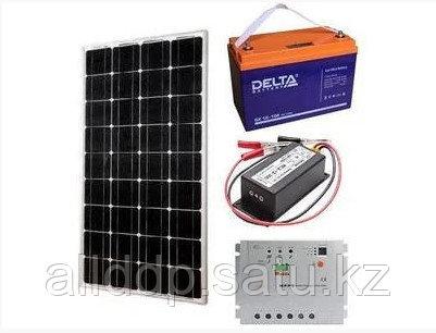 Солнечная электростанция  ALLDDP Solar 0,75 кВт/сутки(12В). ГАРАНТИЯ 1 ГОД