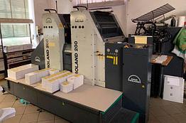 Roland 202E, 2 краски В2, 52х74, 2005г, всего 14 млн.отт