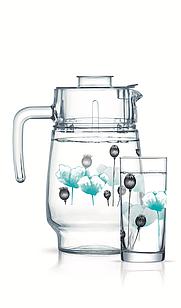 Набор для напитков Luminarc Angelique turquoise (7пр.)