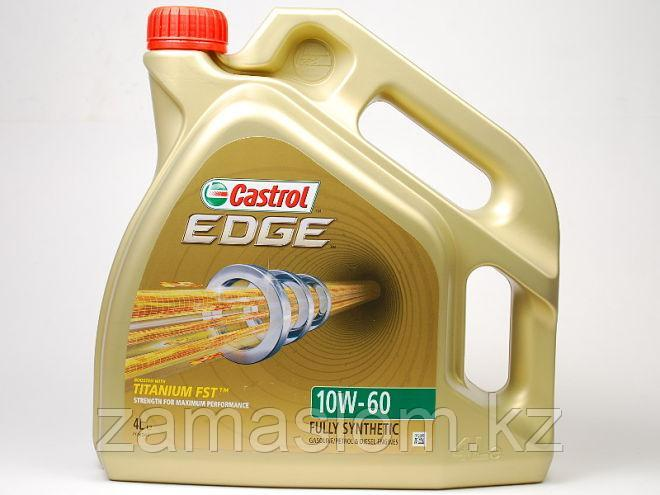 Моторное масло CASTROL EDGE 10W-60 4L