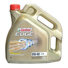 Моторное масло CASTROL EDGE 0W-40 A3/B4 4L