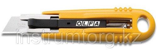 Нож OLFA с выдвижным лезвием и возвратной пружиной, 17,5мм