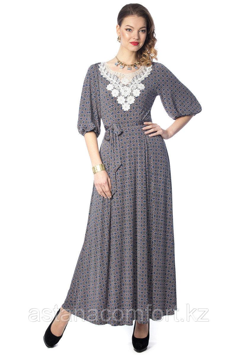 Очаровательное длинное женское платье. Размеры: 48.