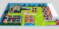 Детская игровая площадка 800м2