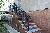 Ограждение на лестницу уличную
