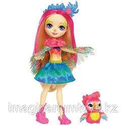 Энчантималс Кукла Enchantimals Peeki Parrot Doll & Sheeny