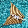 Пляжный надувной матрас Золотые крылья ангела, 250 см, фото 4