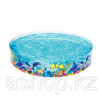 Бассейн каркасный Bestway Fill 'N Fun Pool, 2074 л, Возрост: От 6 лет, Поливинилхлорид, Цвет: Разноцветный