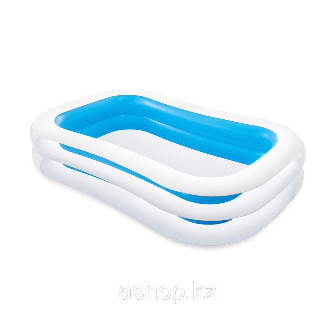 Бассейн надувной Intex Ванна, 770 л, Возрост: От 6 лет, Насос: Нет, Лестница: Нет, Поливинилхлорид, Цвет: Голу