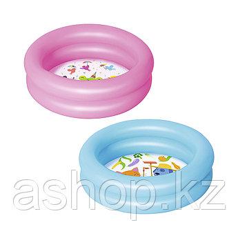 Бассейн надувной Bestway Round 2, 21 л, Возрост: От 2 лет, Поливинилхлорид, Цвет: Разноцветный
