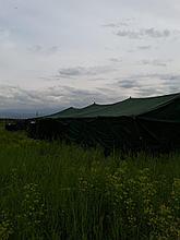Палатка армейская 7.7 х 11м. 40 местная зимняя+Пушка в подарок! +Доставка бесплатная!