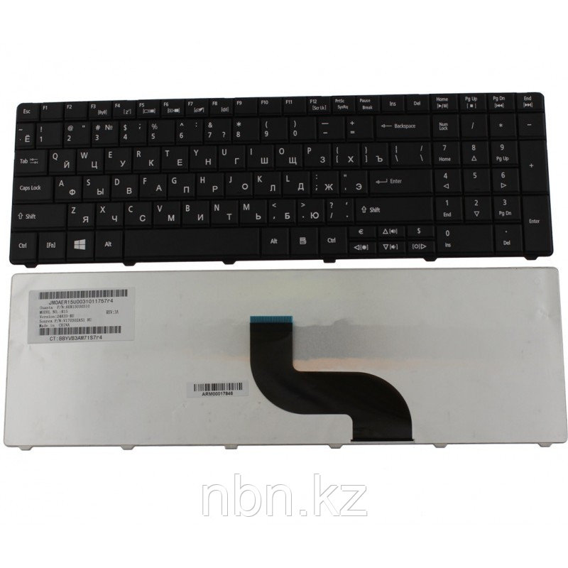 Клавиатура Acer TravelMate 5740 / 5744 / Fujitsu AH530 / Packard Bell LE11 RU