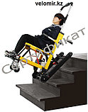 Подъемник лестничный, гусеничный для инвалидов, электрический, складной, мобильный 24v  200w.model DW-ST003A., фото 2