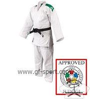 Кимоно для дзюдо Green Hill белое оригинал(лицензионное)