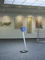 Напольный информационный стенд Durable Info Sign A4 серебристый, фото 5