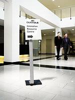 Напольный информационный стенд Info Sign  A3 Durable серебристый, фото 5