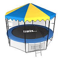 Батут UNIX line 10 ft inside с крышей