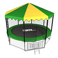 Батут UNIX line 10 ft outside с крышей, фото 1