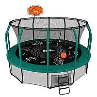 Батут UNIX line SUPREME GAME 12 ft + Basketball