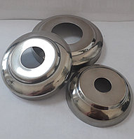 Чашка сфера AISI 201, крышка на флянец (d16, d25, d32, d38, d51)