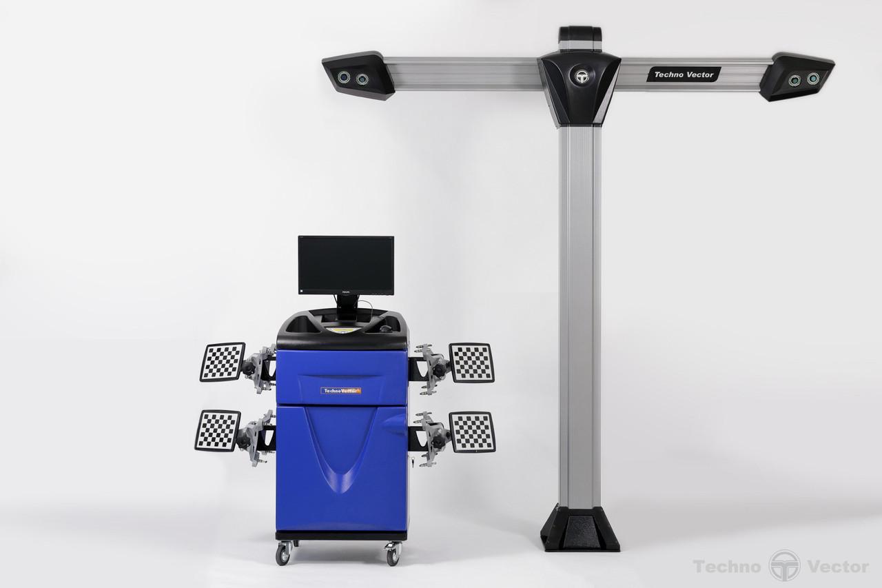 Техно Вектор 7  V 7204 T A СТЕНД СХОД-РАЗВАЛ 3D Серия: PRO