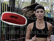 Спортивная повязка на голову красная
