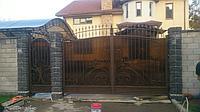 Ворота калитка кованные