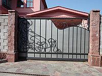 Ворота стальные откатные