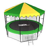Батут UNIX line 12 ft inside с крышей