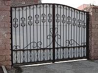 Ворота стальные распашные