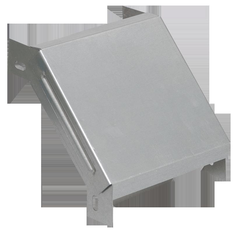 Поворот на 90 гр. вертикальный внешний 80х600 IEK HDZ