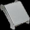 Поворот на 90 гр. вертикальный внешний 50х100 RAL 9016 (глянец)