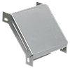 Поворот на 90 гр. вертикальный внешний 50х200 RAL 9016 (глянец)