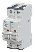 Автоматический выключатель LTN-UC-1C-2 - LTN-UC-63C-2  OEZ:41860 - OEZ:41873
