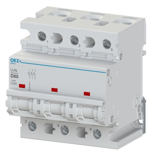 Автоматический выключатель LVN-80C-3 OEZ:42276
