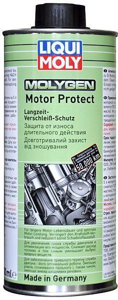 Присадка LIQUI MOLY Molygen Motor Protect 500ml. Антифрикционная присадка в масло