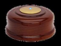 Кнопка вызова КСЛ-2 (темный дуб, под золото)