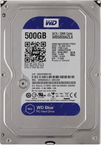 WD5000AZLX - 500Гб Жёсткий диск Western Digital.