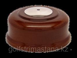 Кнопка вызова КСХ-2 (темный дуб, под хром)