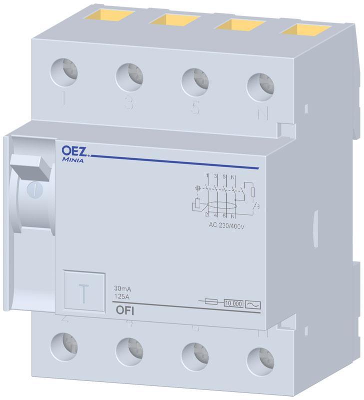 Устройство защитного отключения OFI-125-4-030AC OEZ:36823