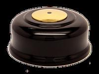 Кнопка вызова КСЛ-1 (черная, под золото)