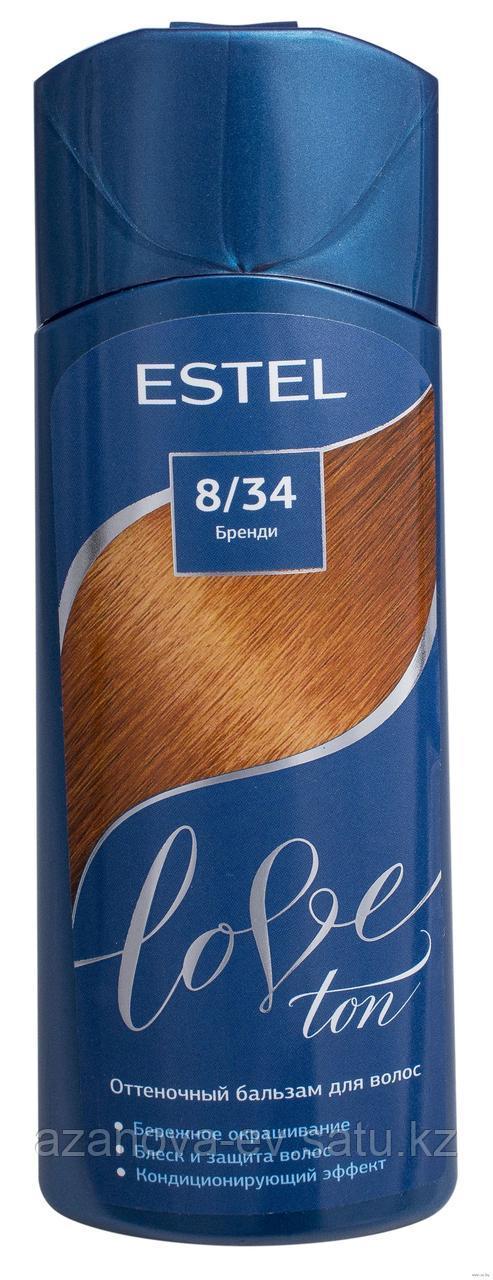"""Оттеночный бальзам для волос """"Love Ton"""" , бренди (150 мл)"""