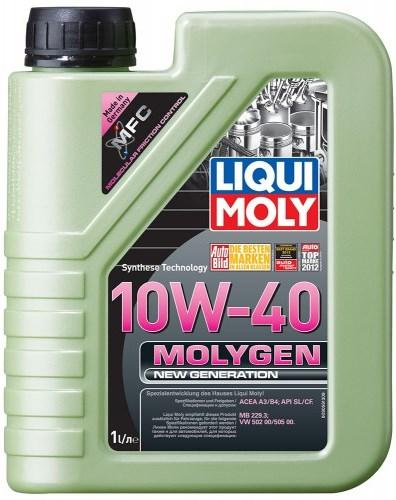Моторное масло LIQUI MOLY Molygen New Generation 10W-40 1L